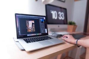 Lightroom Fotos bearbeiten auf dem Mac