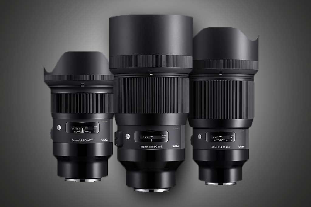 Sigma stellt 9 Festbrennweiten für Sony E-Mount vor