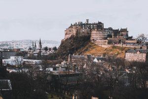 Burg von Edingburgh