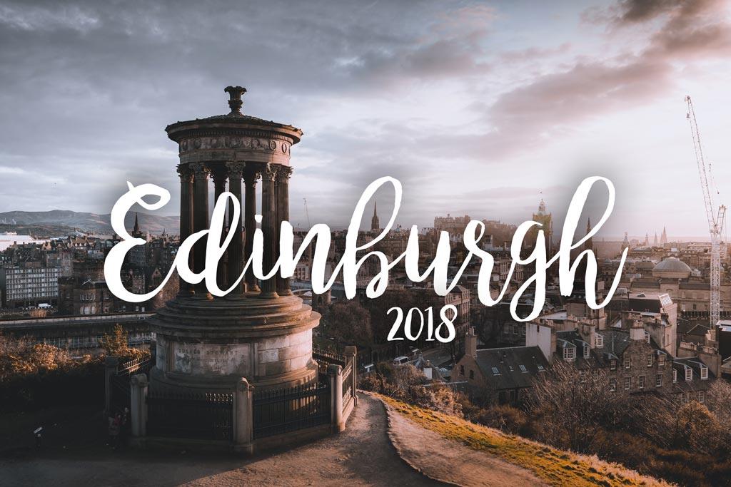 Edinburgh, Schottland 2018