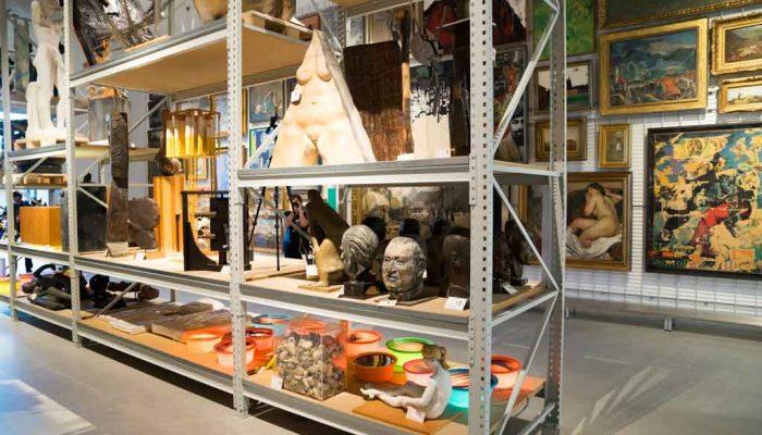 Das Schaudepot der Kunsthalle Mannheim