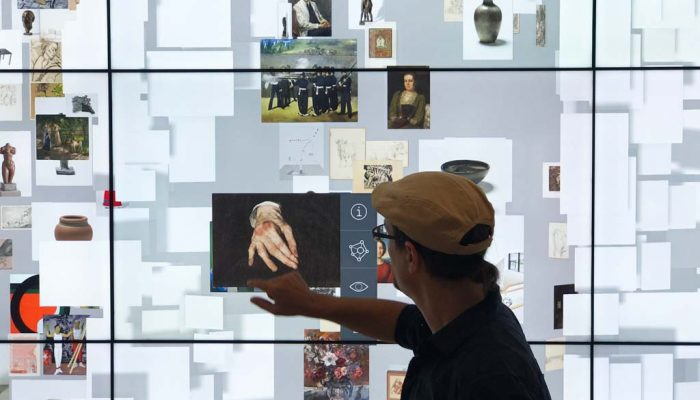 Collection Wall in der Kunsthalle Mannheim