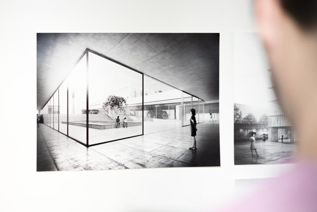 The temporary Bauhaus-Archiv / Museum für Gestaltung