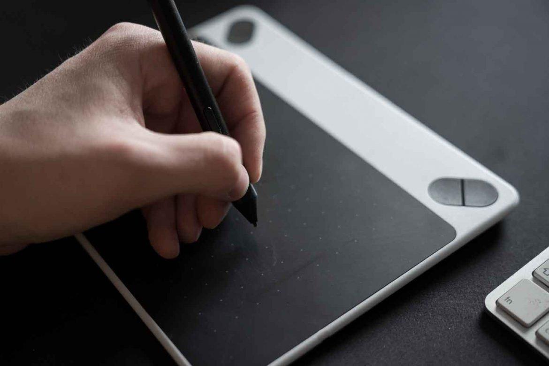 Grafiktablet und Fotografie