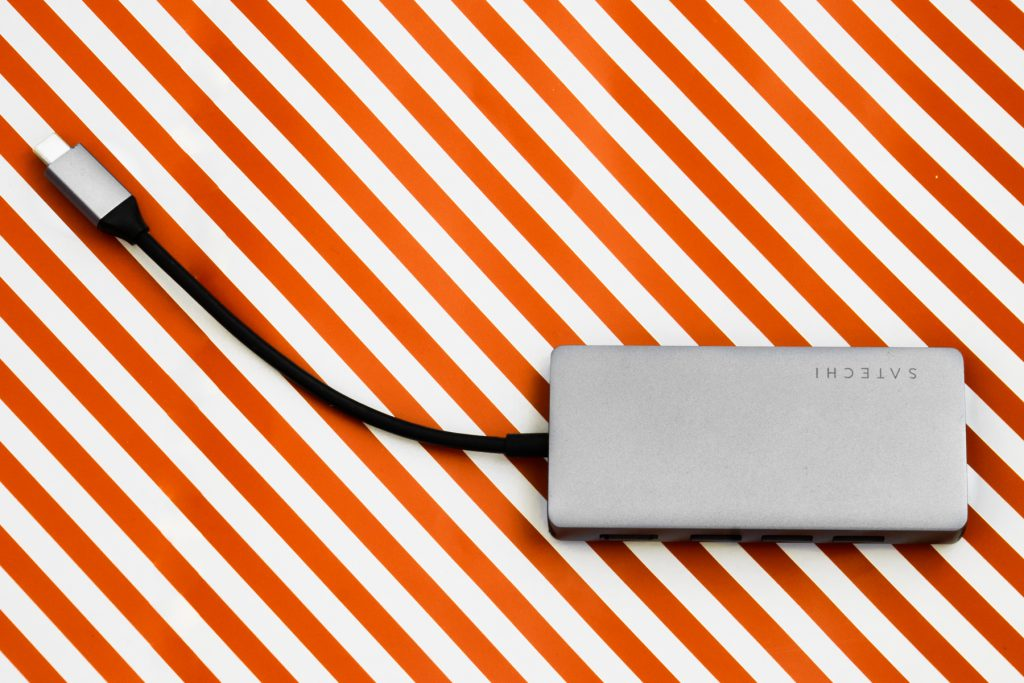 Satechi USB-C Hub Gesamtansicht