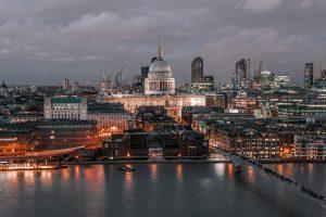 Ausblick vom Tate Modern in London